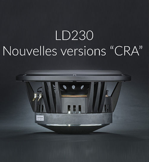 "New versions of our 23 cm unit :    LD230 ""CRA"""